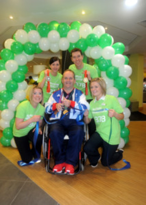 Paralympic star celebrates fitness centre's refurb - Community - Leamington Courier